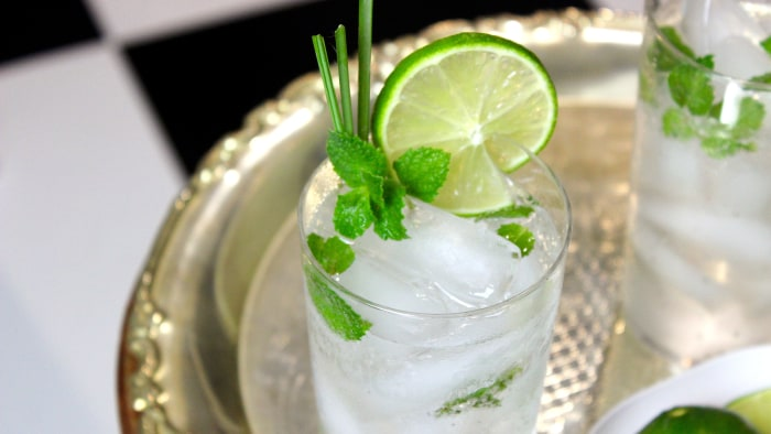 Lemongrass Lime Mojito