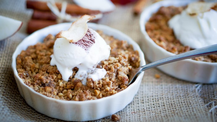 Dylan Dreyer's Apple Crisp