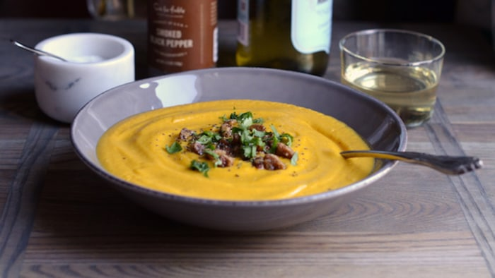 Chipotle-Maple Butternut Squash Soup Recipe
