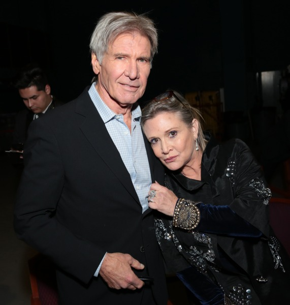 carrie fisher and harrison ford relationship