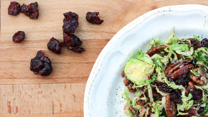 Turkey Trot: Sunny Anderson's brussels sprout saladTODAY, November 16, 2016.