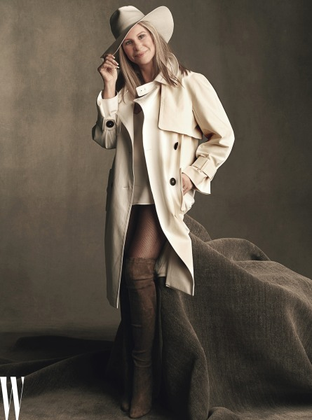 Barbra Streisand Shows Off Her Legs On Cover Of W Talks