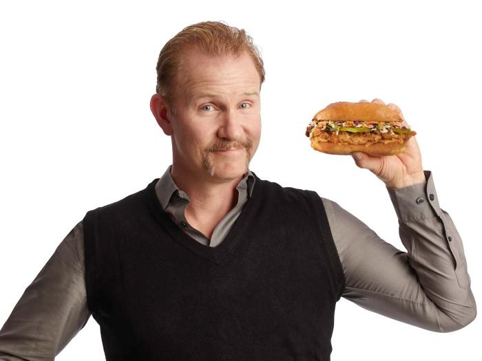 Super Size Me' filmmaker Morgan Spurlock opens a fast food ...