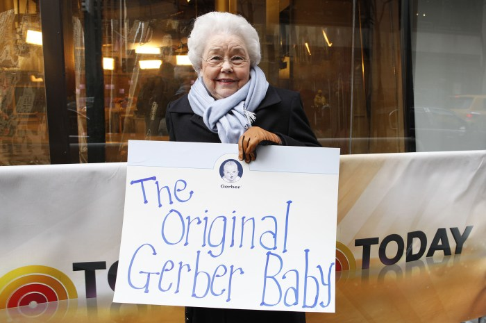 Original Geber Baby Ann Taylor Cook turns 90