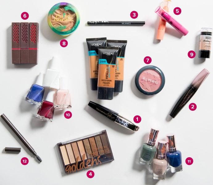 Top drugstore makeup