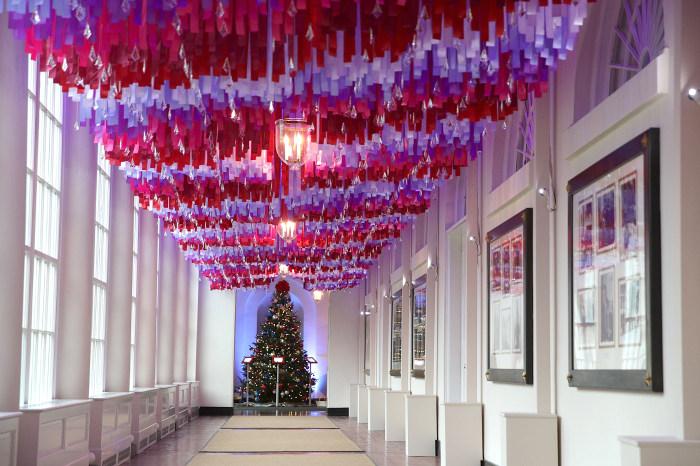 White House Christmas Display 2016 Today Com