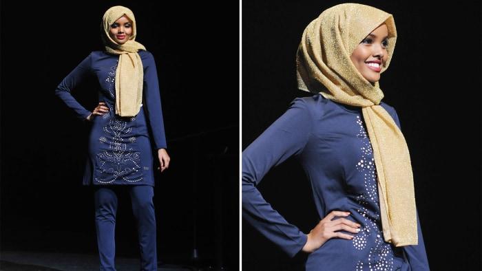 Halima Aden wears hijab and burkini in Miss Minnesota USA ...