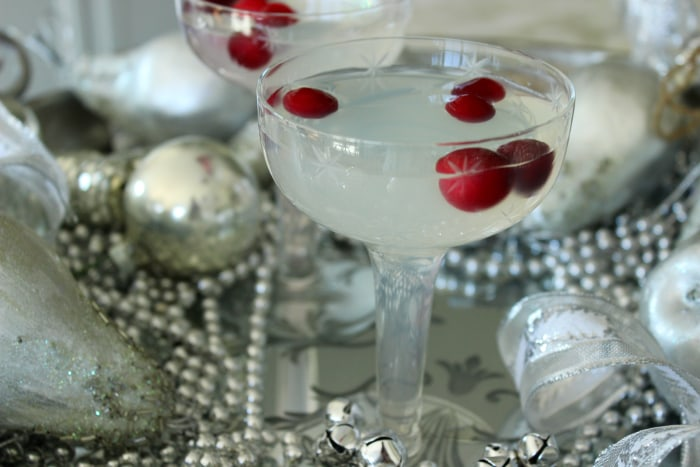Cranberry Lemon Drop Martini