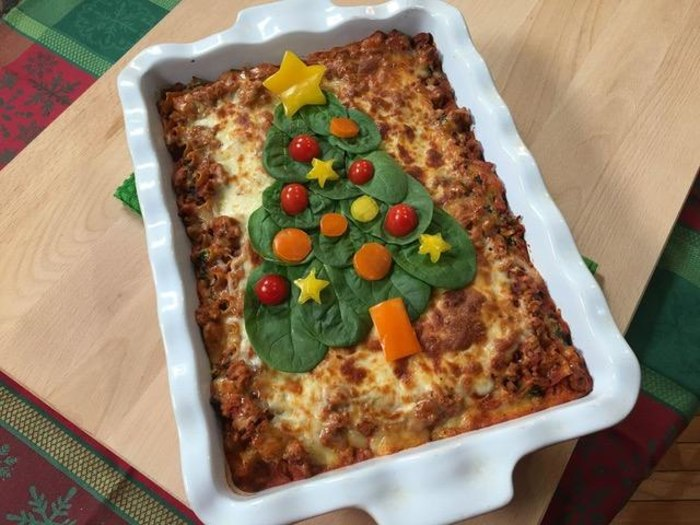 Joy's Holiday Spinach Lasagna