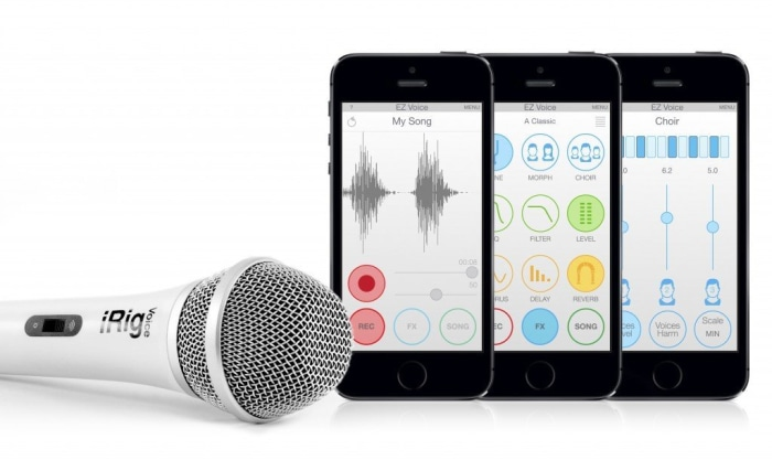 iK Multimedia iRig Voice Karaoke Microphone Today show
