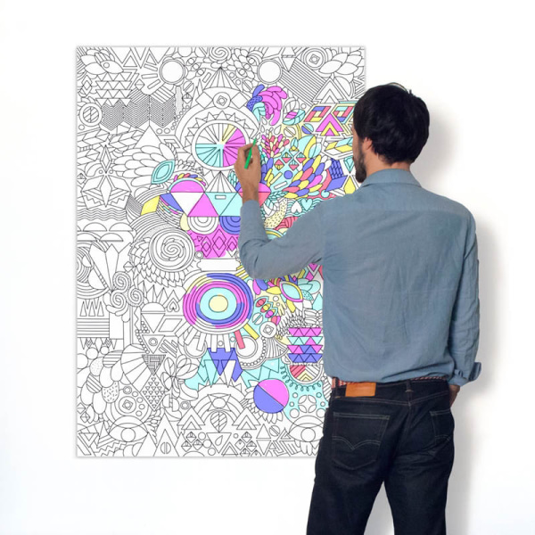 OMY Giant Coloring Posters Today Show