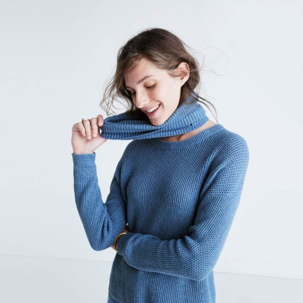 Convertible Turtleneck Sweater Madewell Today Show