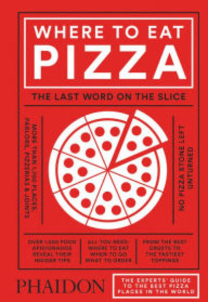 """""""Where to Eat Pizza,"""" book"""