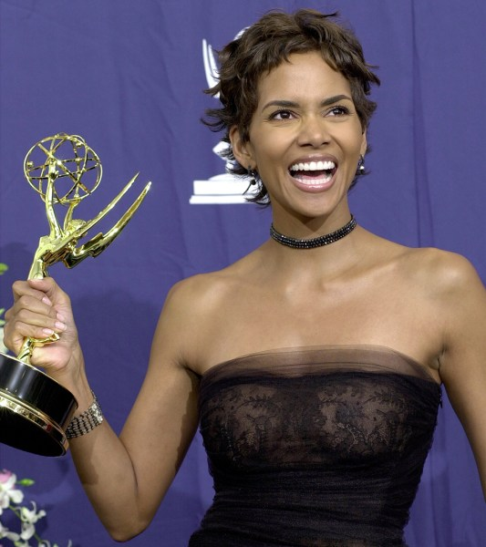 Halle Berry's hair is ... Halle Berry