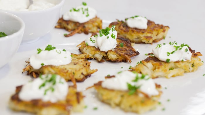 Ina Garten's Perfect Potato Pancakes
