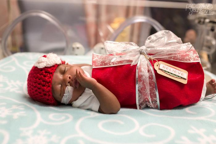 premature babies look this festive season