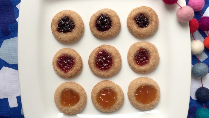 Snickerdoodle Thumbprint Cookies
