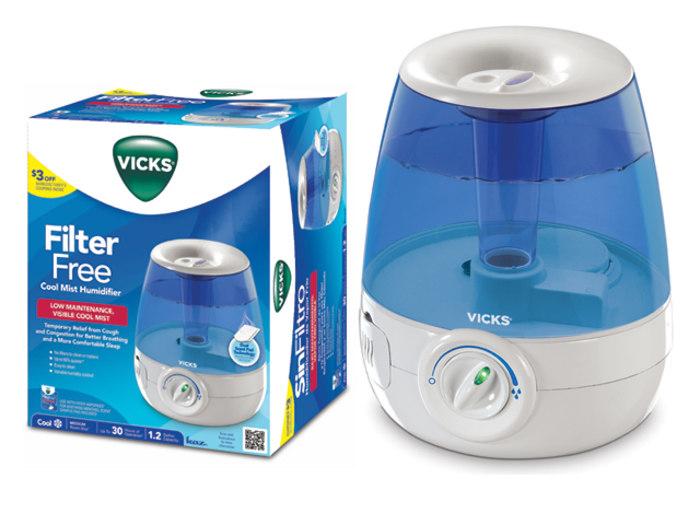 how to add vicks to a humidifier
