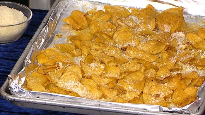 Siri Daly's Cheese and Pepper (Cacio e Pepe) Potato Chips