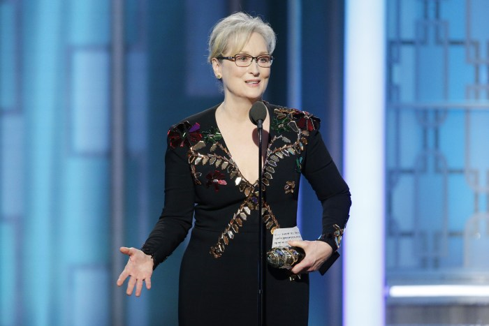 Image result for meryl streep golden globes