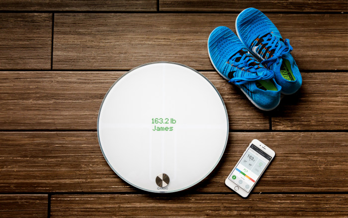 Qardio. Best digital bathroom scales for weight loss 2017   TODAY com