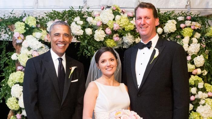 President Obama Serves As Groomsman At Longtime Aides Wedding