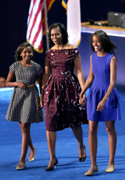 Michelle Obama Reveals How Daughters Malia And Sasha Spent Final White House Night