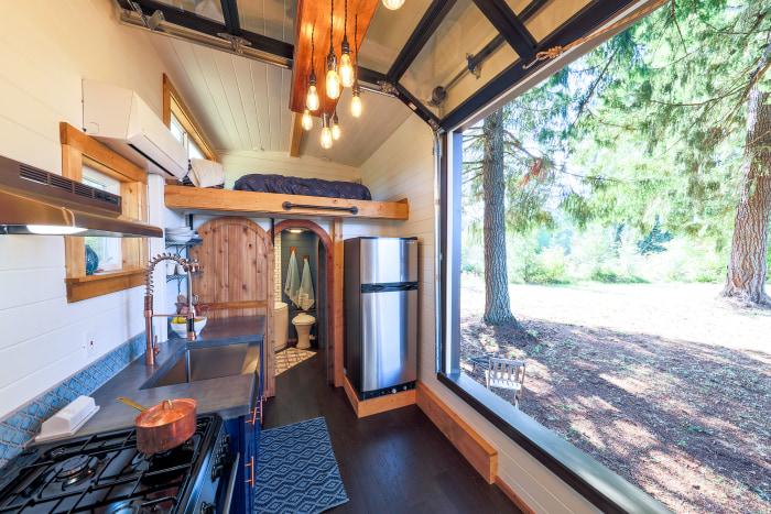 Tiny House With Rock Climbing Wall - Today.Com