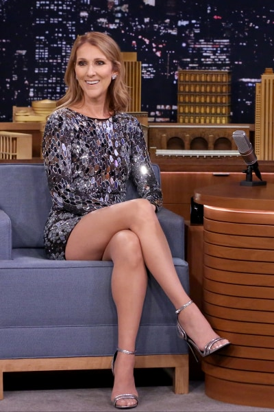 Celine Dion S Hair Is Blonder Than Ever See Her New Look