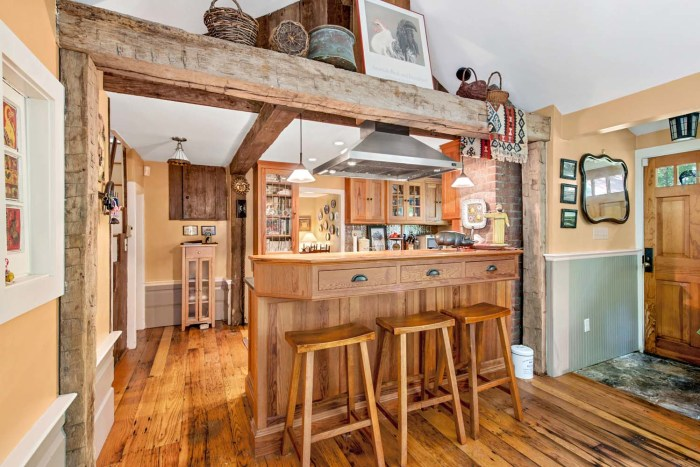 This charming 254 year old farmhouse is the perfect mix of past and