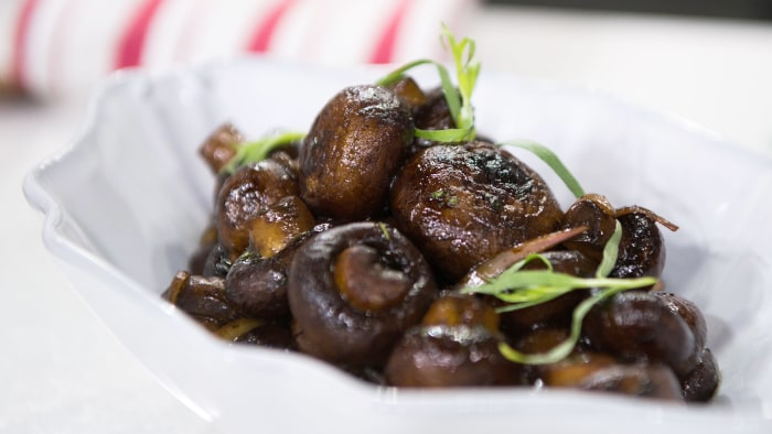Balsamic-Glazed Mushrooms