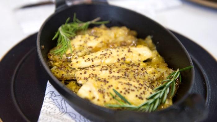Honey Mustard Chicken and Potato Casserole