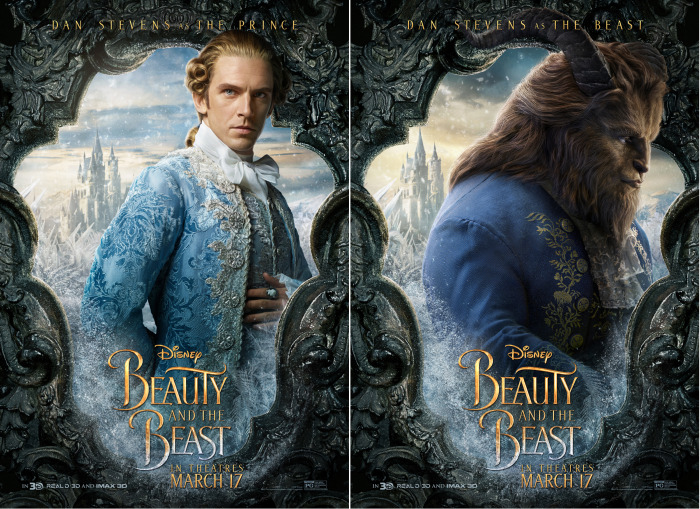 New Beauty And The Beast Posters Are Here Theyre Perfect