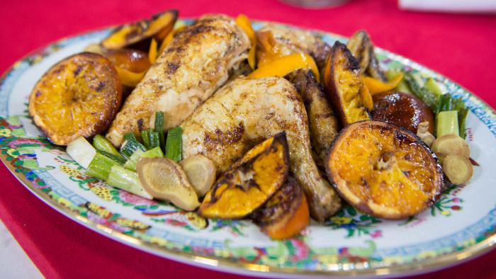 Ching's Golden Chinese Five Spice Orange Roast Chicken