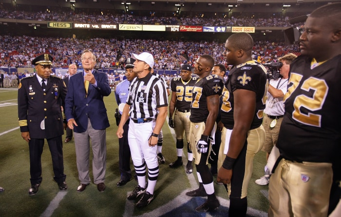 Former President And First Lady To Do Super Bowl Coin Toss