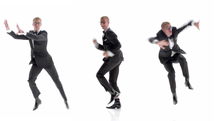 Justin Bieber Celebrates The Touchdown Dance In T-Mobile Super Bowl Ad