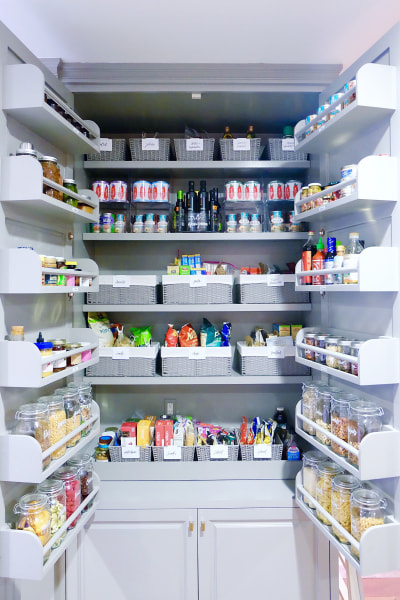 courtesy of the home edit - Organized Pantry