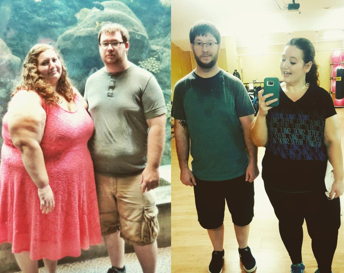 Couple loses 298 pounds combined in a year with 3 easy ...