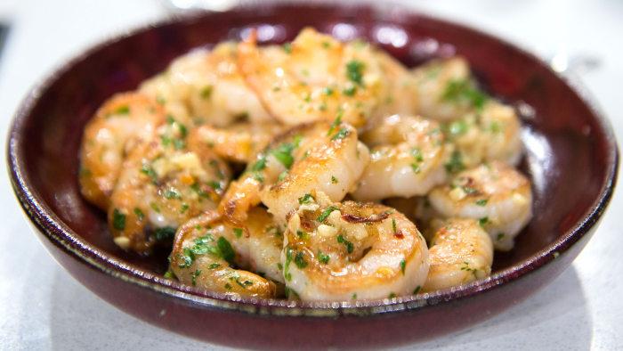 Garlic Lemon shrimp