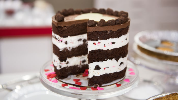 Christina Tosi's Valentine's Day Layer Cake