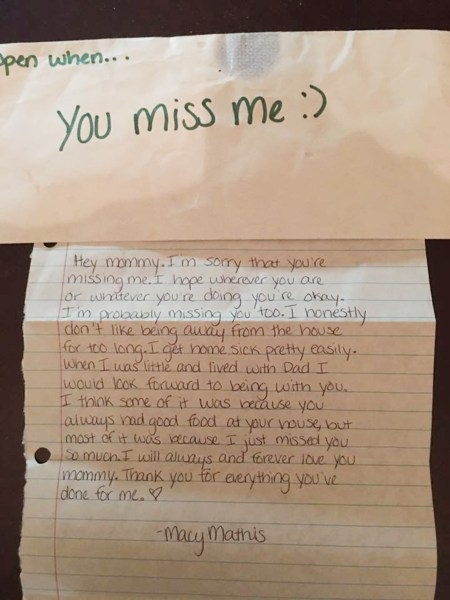 Missing A Friend Letter