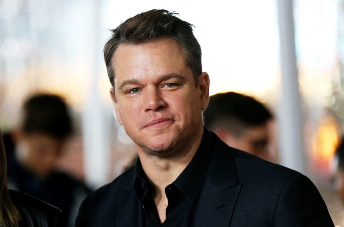 Matt Damon reveals his...