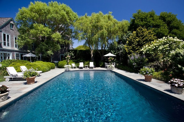 Grey gardens home is for sale and it looks so much for Better homes and gardens swimming pools