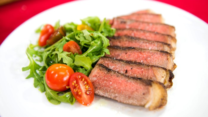 Marinated New York Strip Steak