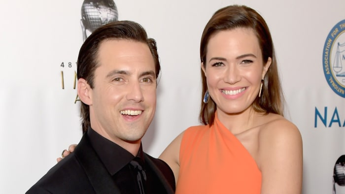 Mandy Moore reacts to Milo Ventimiglia's new look: 'I don ...