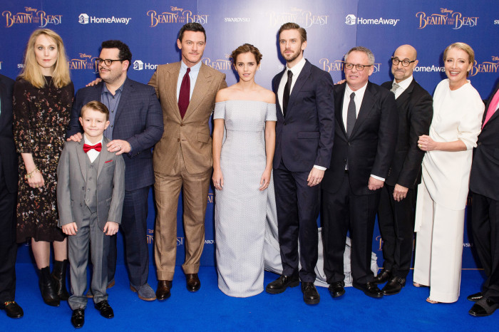 Image result for beauty and the beast 2017 premiere