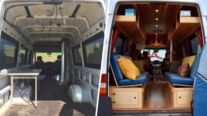 Converting Van Into Home