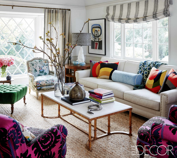 Elle Design: Minnie Driver Home Tour In Elle Decor April 2017