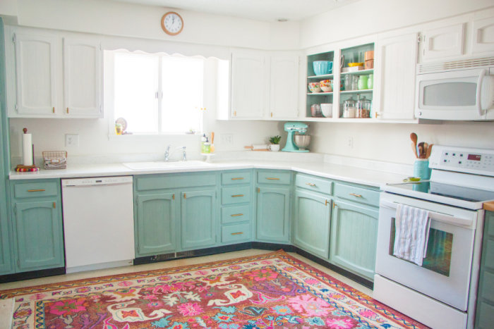 kitchen makeover for less than $250 - today