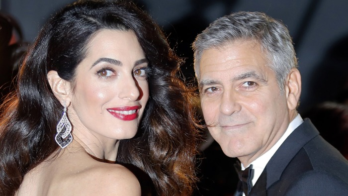 People aren't happy about TIME's weird tweet about Amal Clooney's baby bump